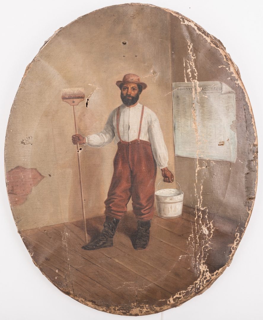Lot 108: William Frye Portrait of an African American Man