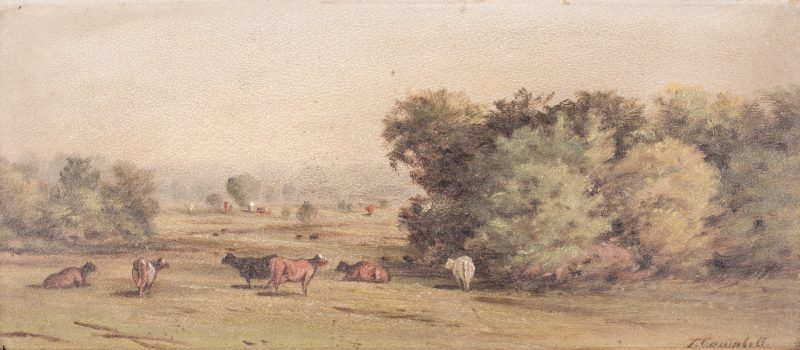 Lot 114: Thomas Campbell, TN Landscape