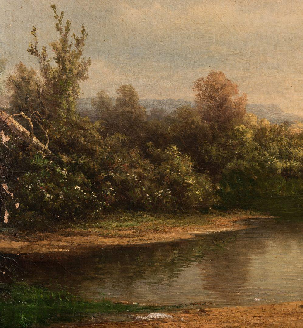 Lot 137: Kruseman Van Elten, Landscape w/ Cows