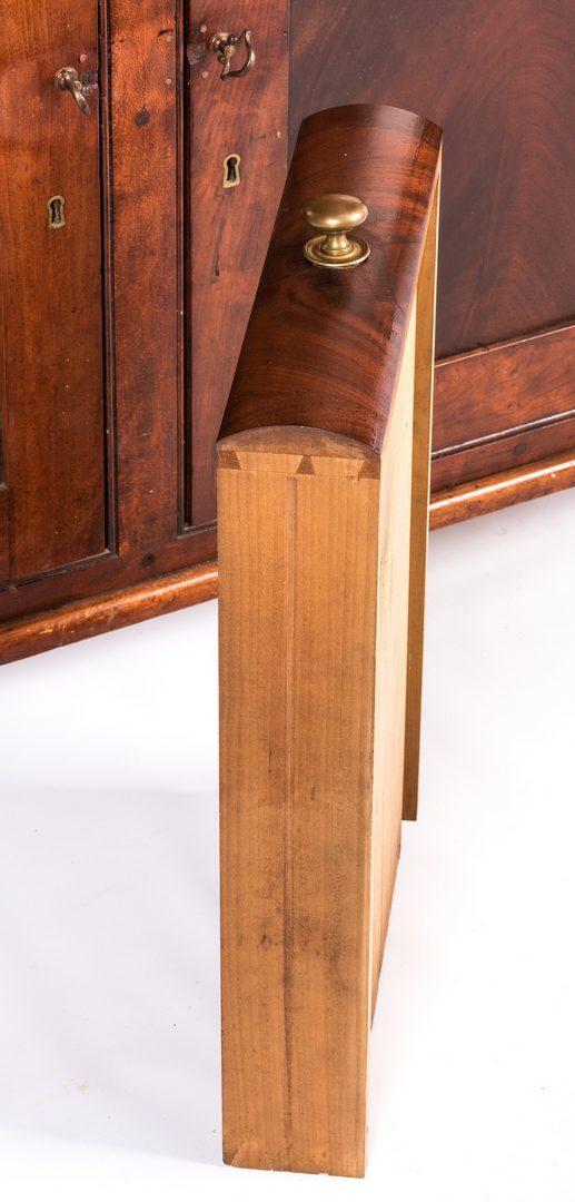 Lot 151: PA Early Sheraton Corner Cupboard