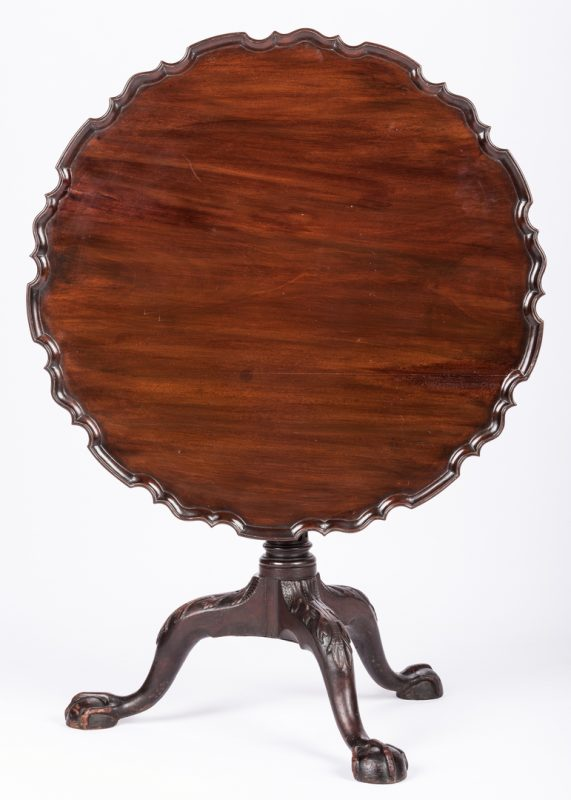 Lot 154: Chippendale Tea Table, poss. Philadelphia
