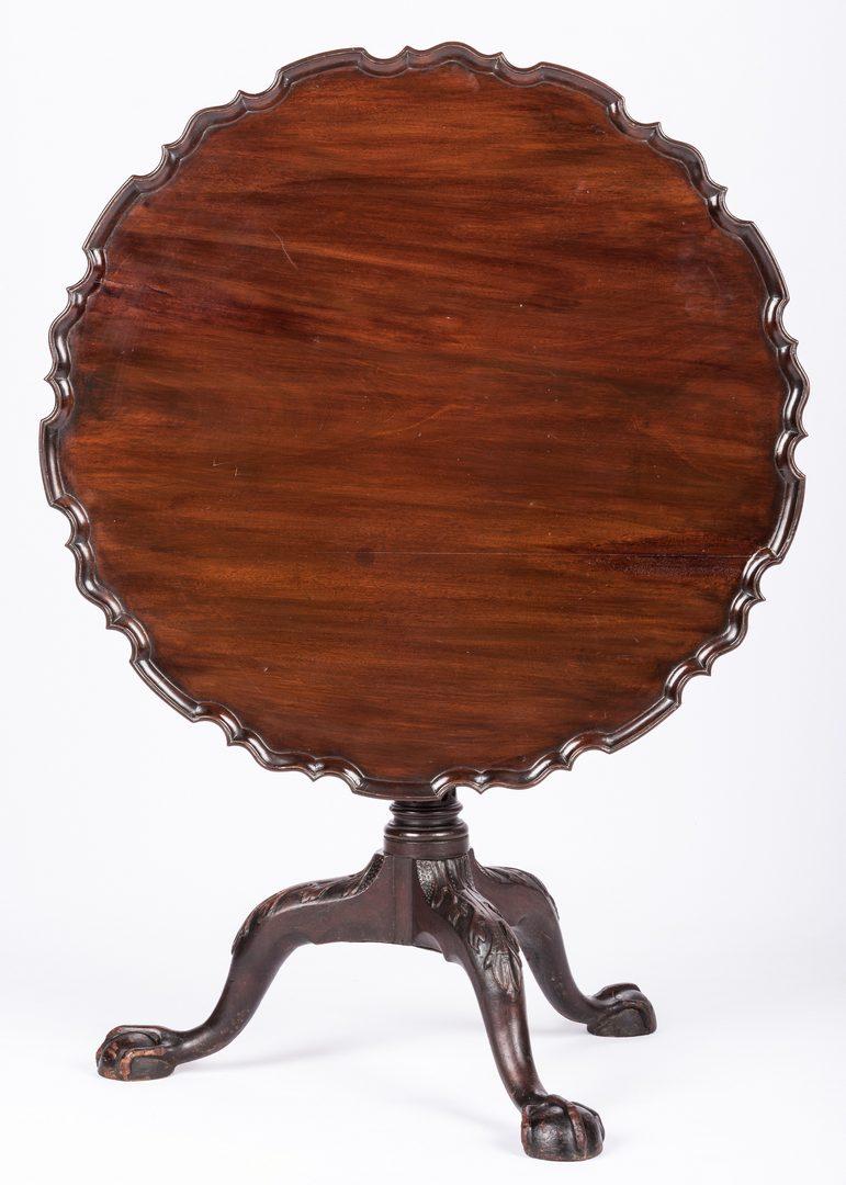 Lot 154: Chippendale Tea Table, poss. Philadelphia