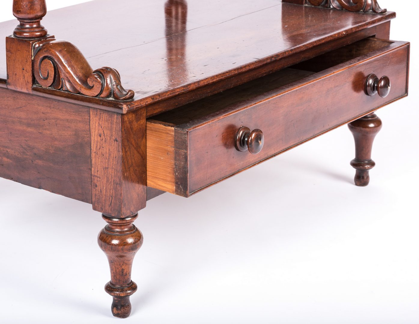Lot 163: William IV  Mahogany Etagere