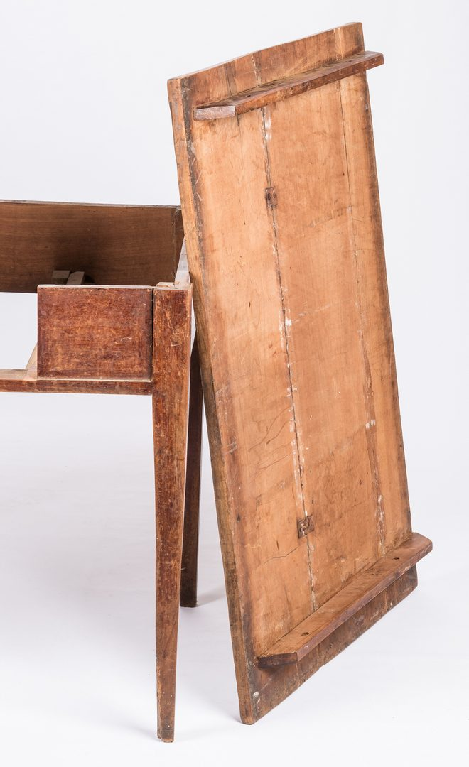 Lot 172: Kentucky Tavern Table w/ Red Wash