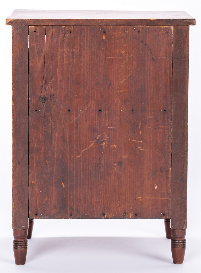 Lot 174: Southern Miniature Sheraton Chest