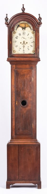 Lot 175: Salem, North Carolina Tall Case Clock