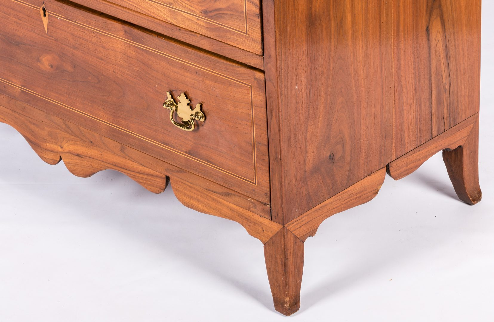 Lot 176: Federal Chest Attr. SC, Bonnet Drawers