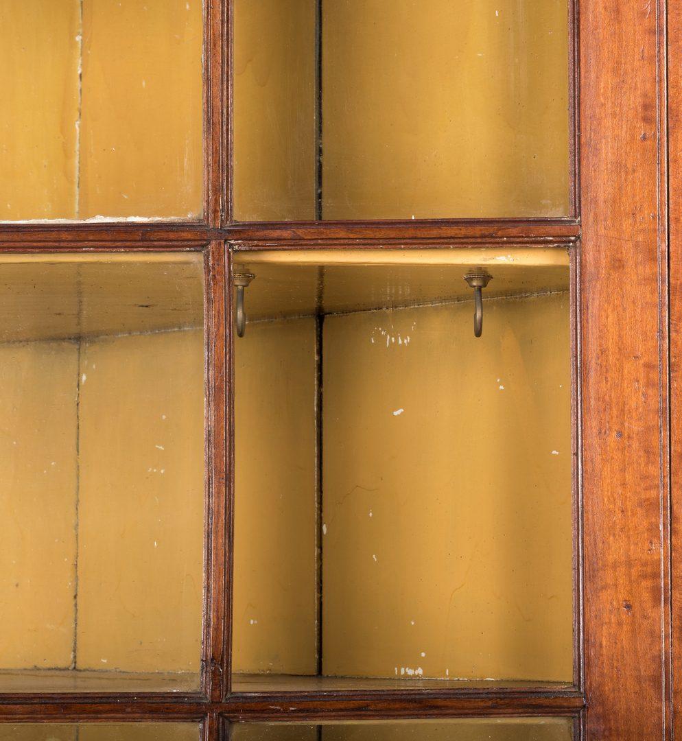 Lot 180: Greene Co. TN Cherry Corner Cupboard