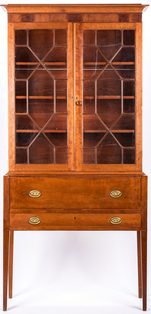 Lot 181: East Tennessee Desk and Bookcase