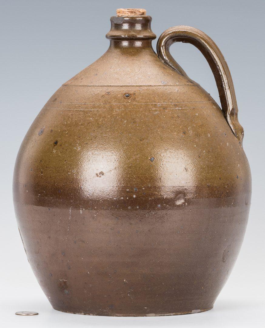 Lot 183: James LaFever Stoneware Pottery Jug