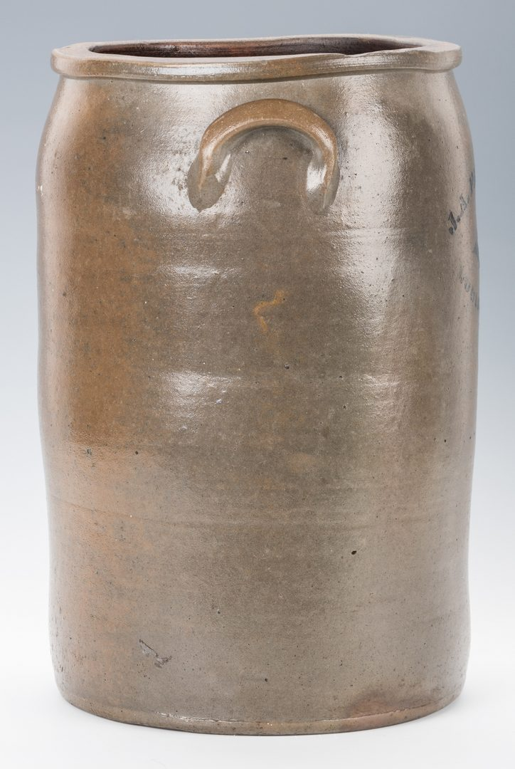 Lot 189: Kentucky Stoneware Jar, John Fashauer
