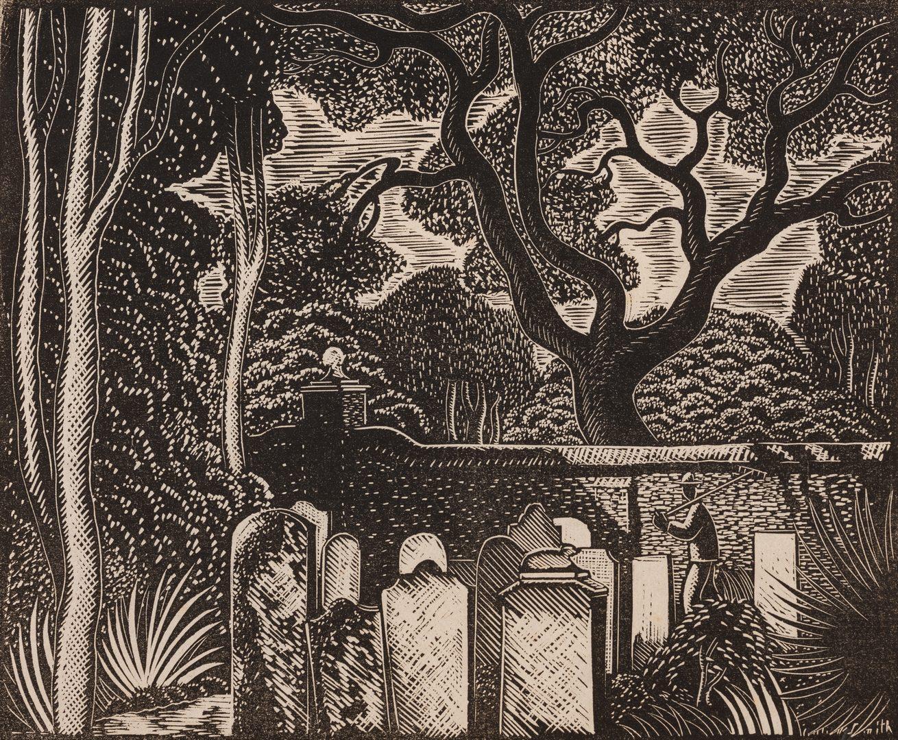 Lot 199: Charles Wm. Smith Charleston Print