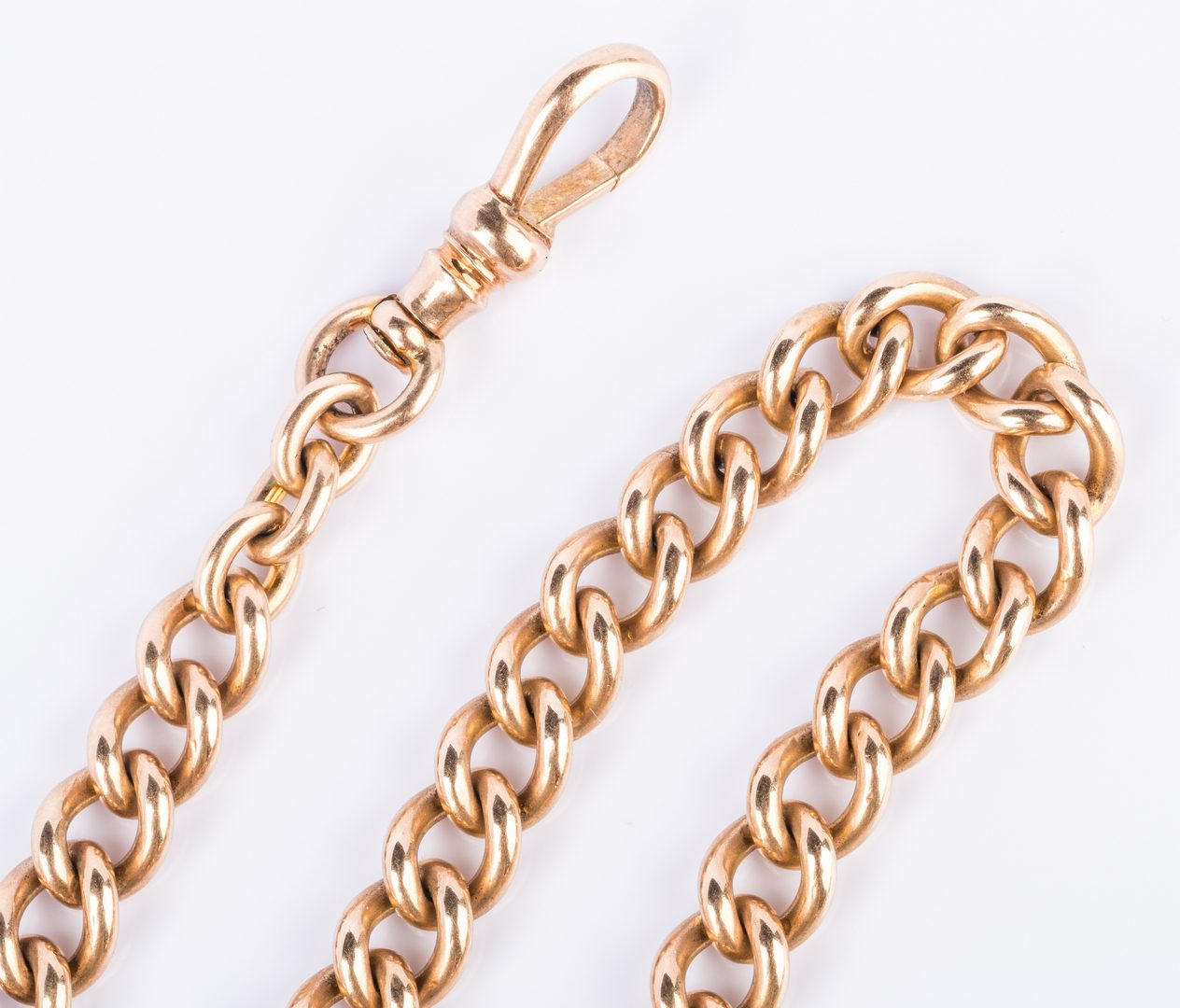 Lot 209: 14K Watch Chain, 42 grams
