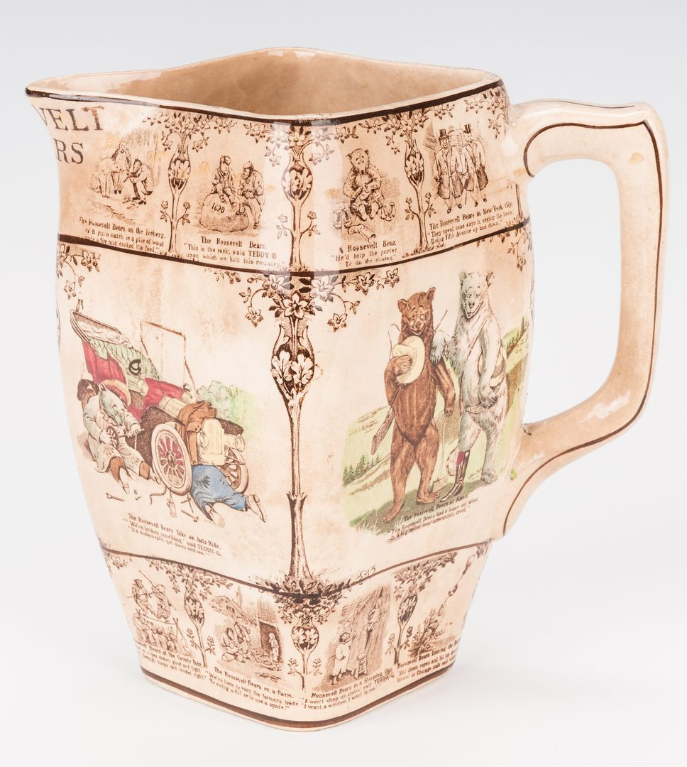 Lot 252: Roosevelt Bear Pitcher