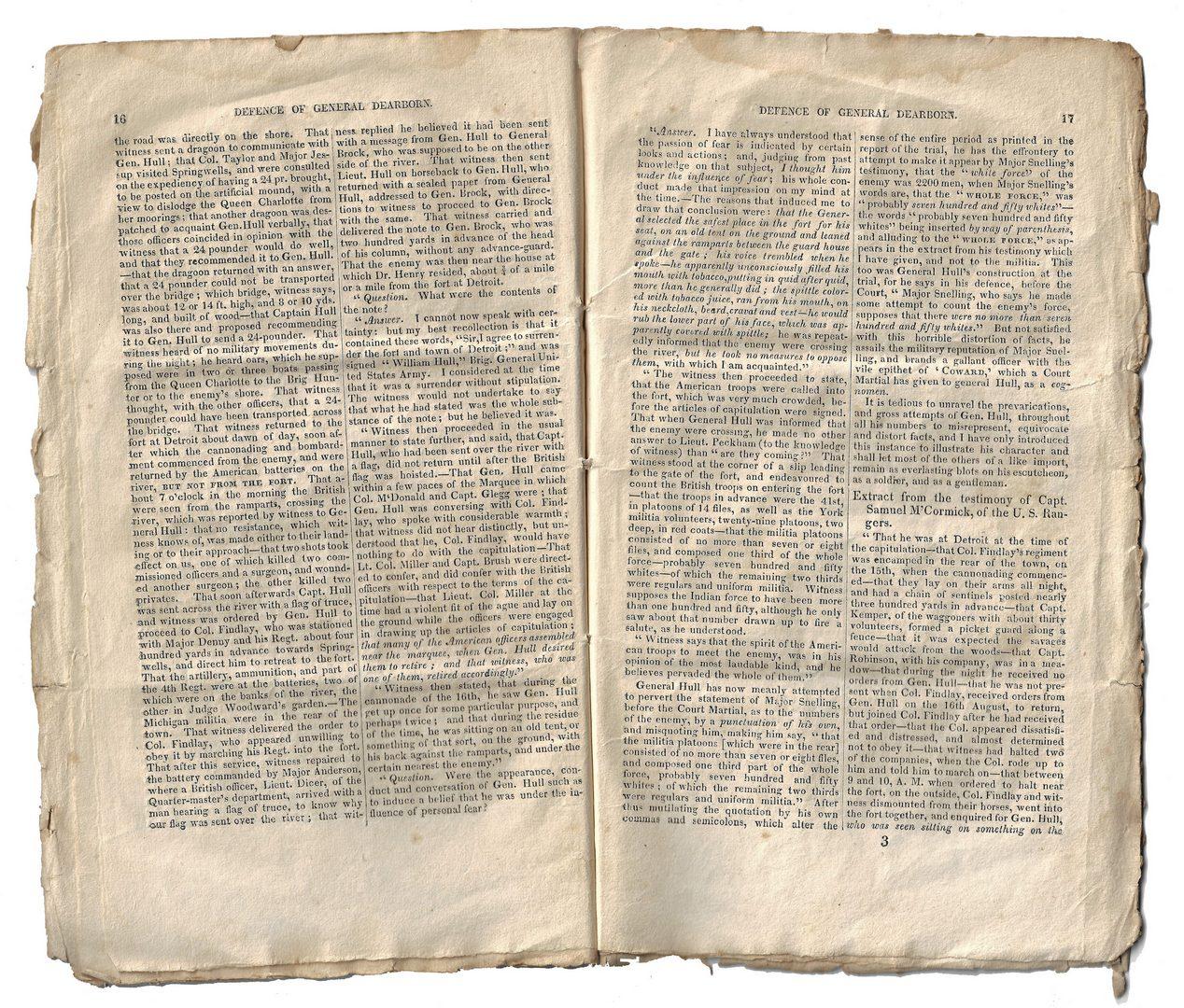 Lot 256: Gen. Henry Dearborn Archive, inc. Letters, Buttons
