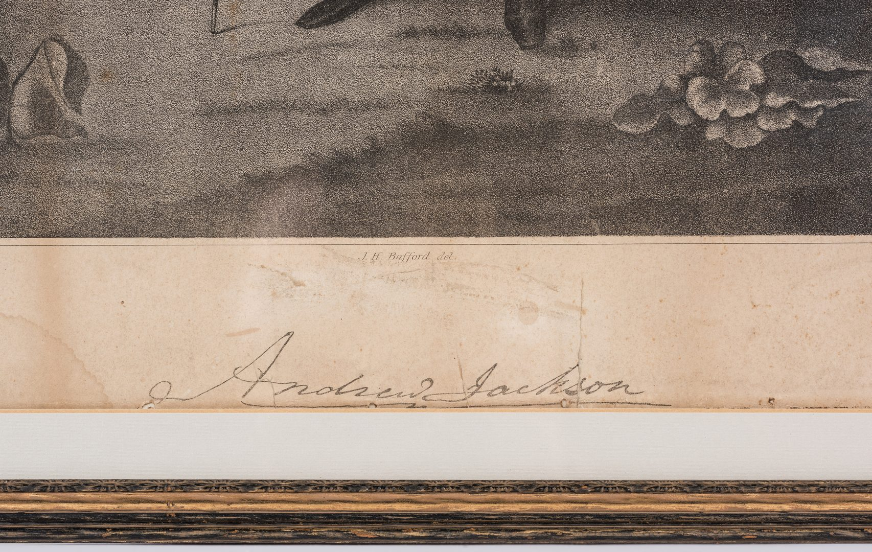 Lot 275: 3 Historic Figure Prints, inc. Andrew Jackson, John Calhoun