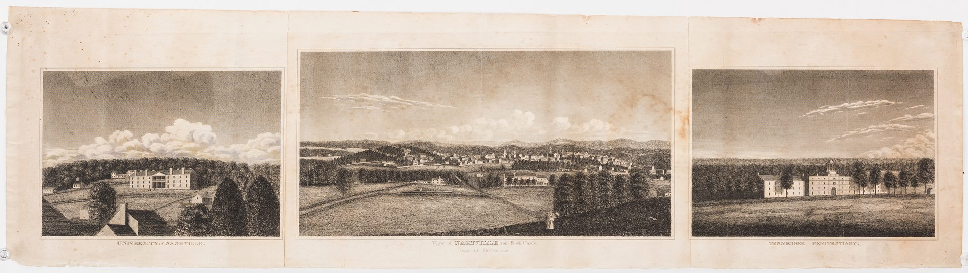 Lot 284: Early View of Nashville