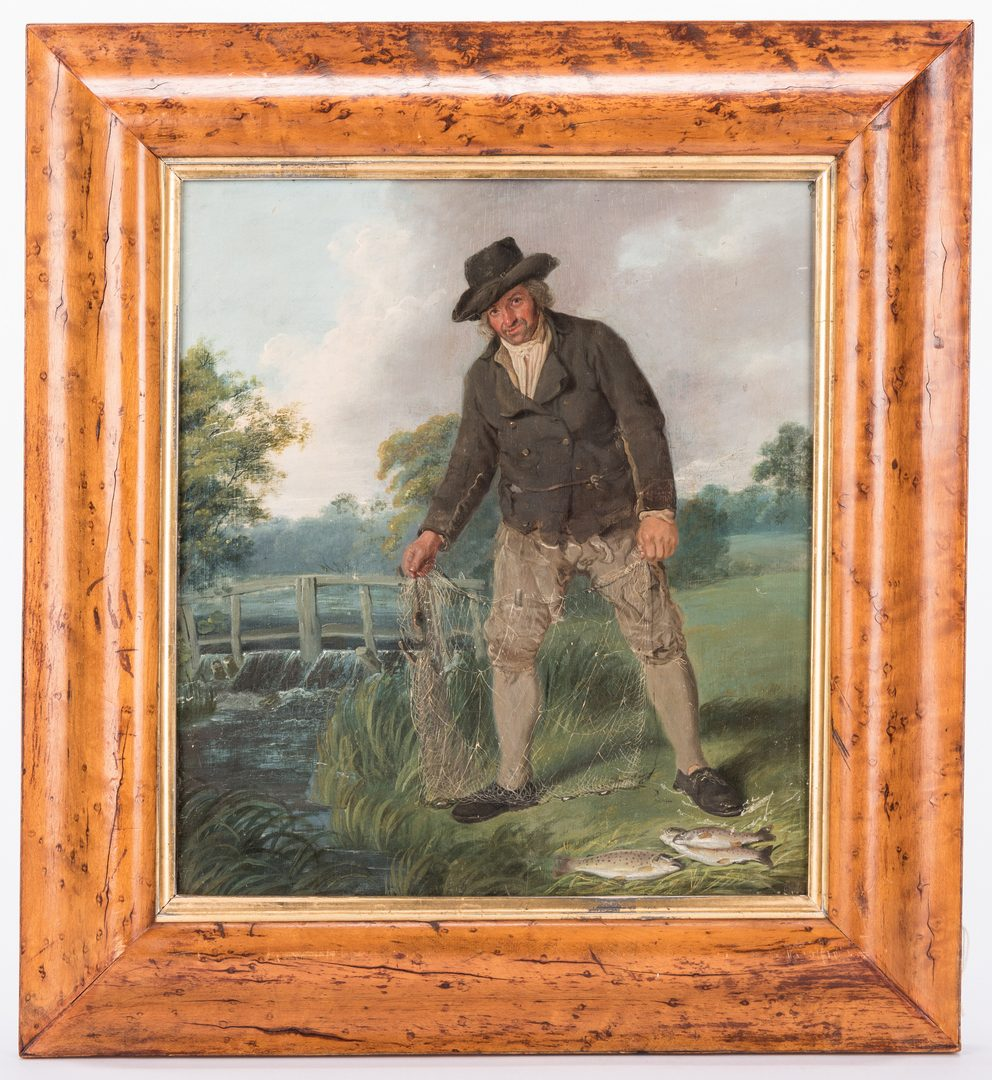 Lot 304:  Thomas Good Oil on Board, The Poacher