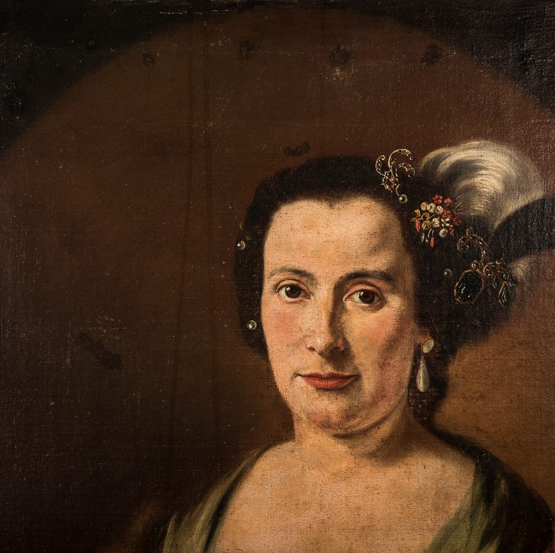 Lot 305: Continental School, Portrait of a Female Artist