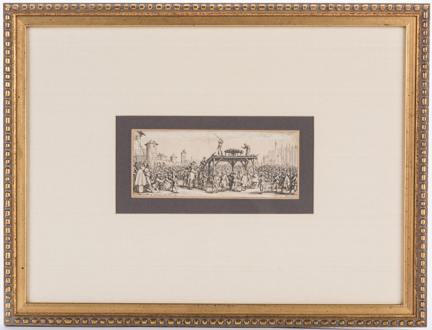Lot 313: 3 early works on paper, Henriet, Earlom