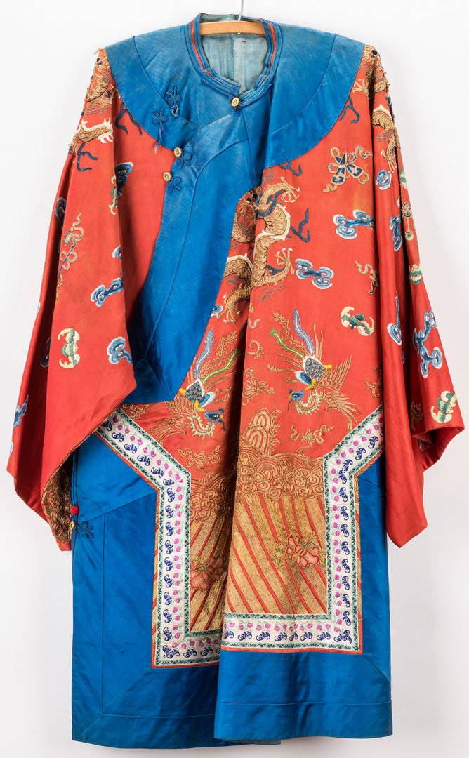Lot 367: Chinese Silk Court Robe