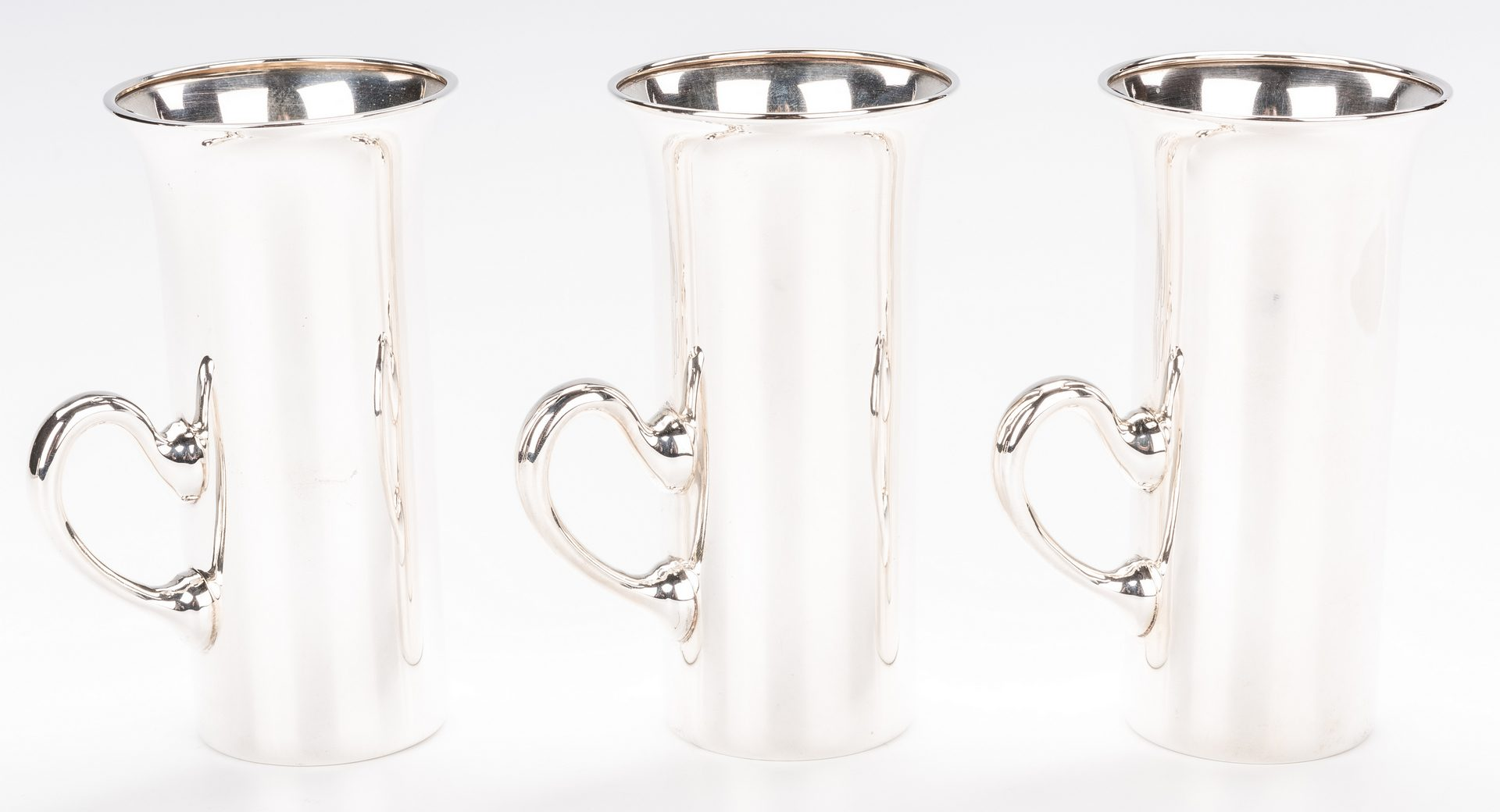 Lot 389: 6 A.G. Schultz Sterling Hunt Cups or Tumblers