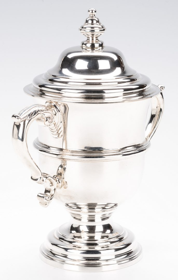 Lot 404: Sterling Trophy Cup, marked Tiffany