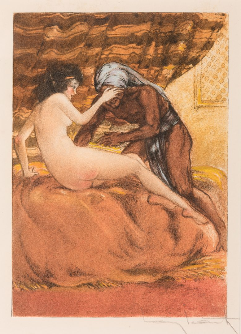 Lot 421: 3 After Louis Icart Prints