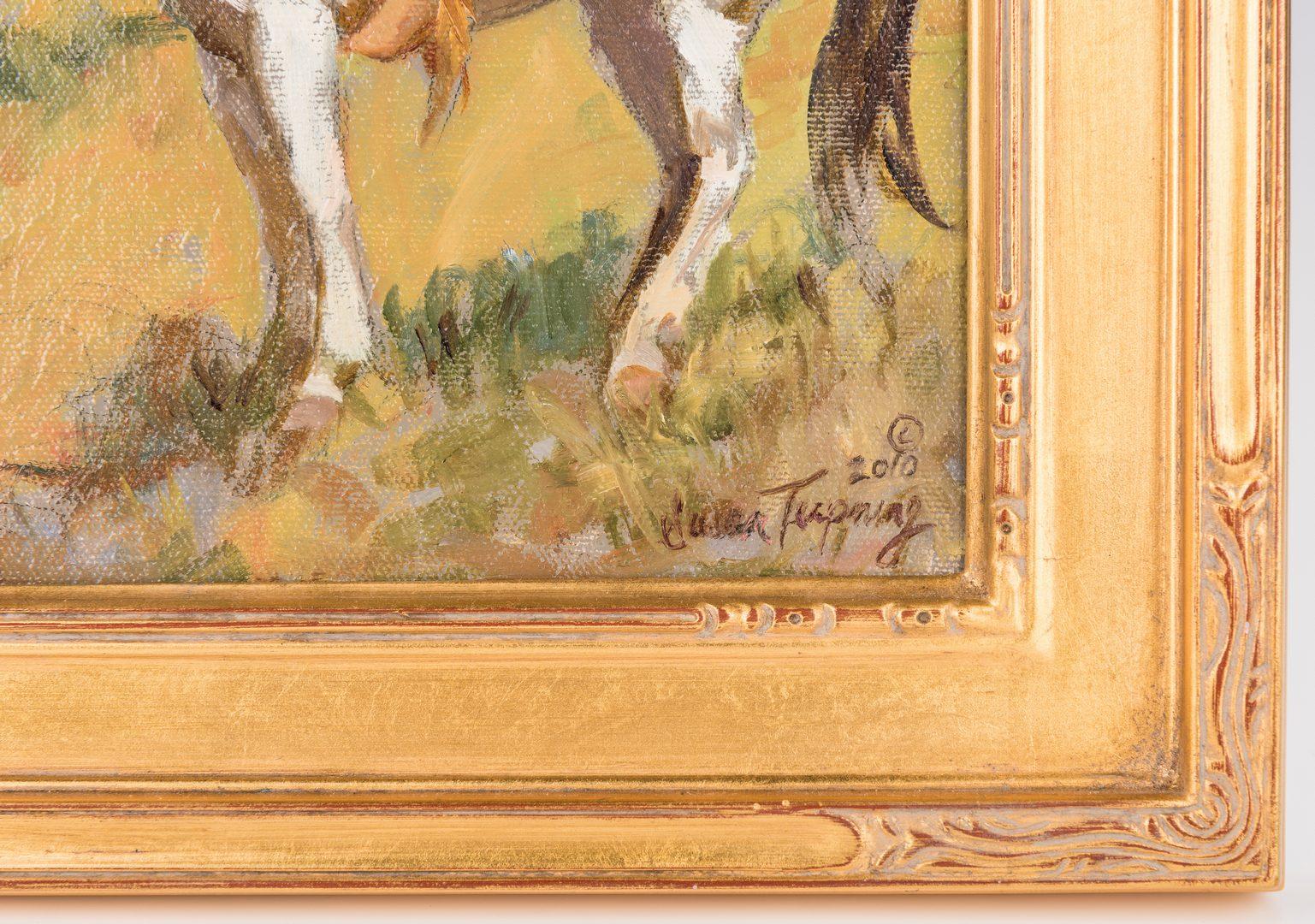 "Lot 423: Susan Terpning, O/B, ""Blackfoot Trail"""