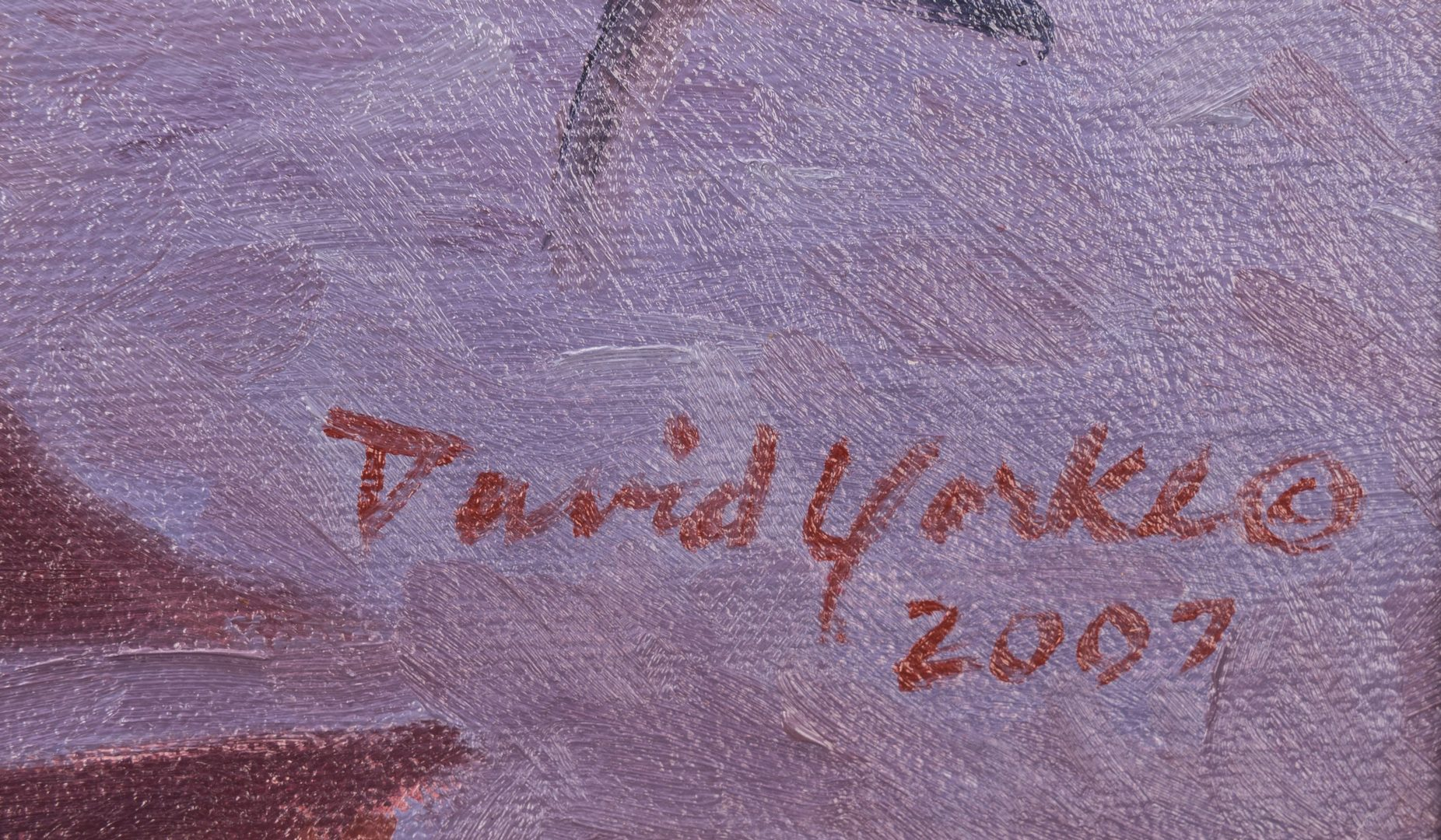 """Lot 426: David Yorke, O/B, """"Daydreamer"""""""