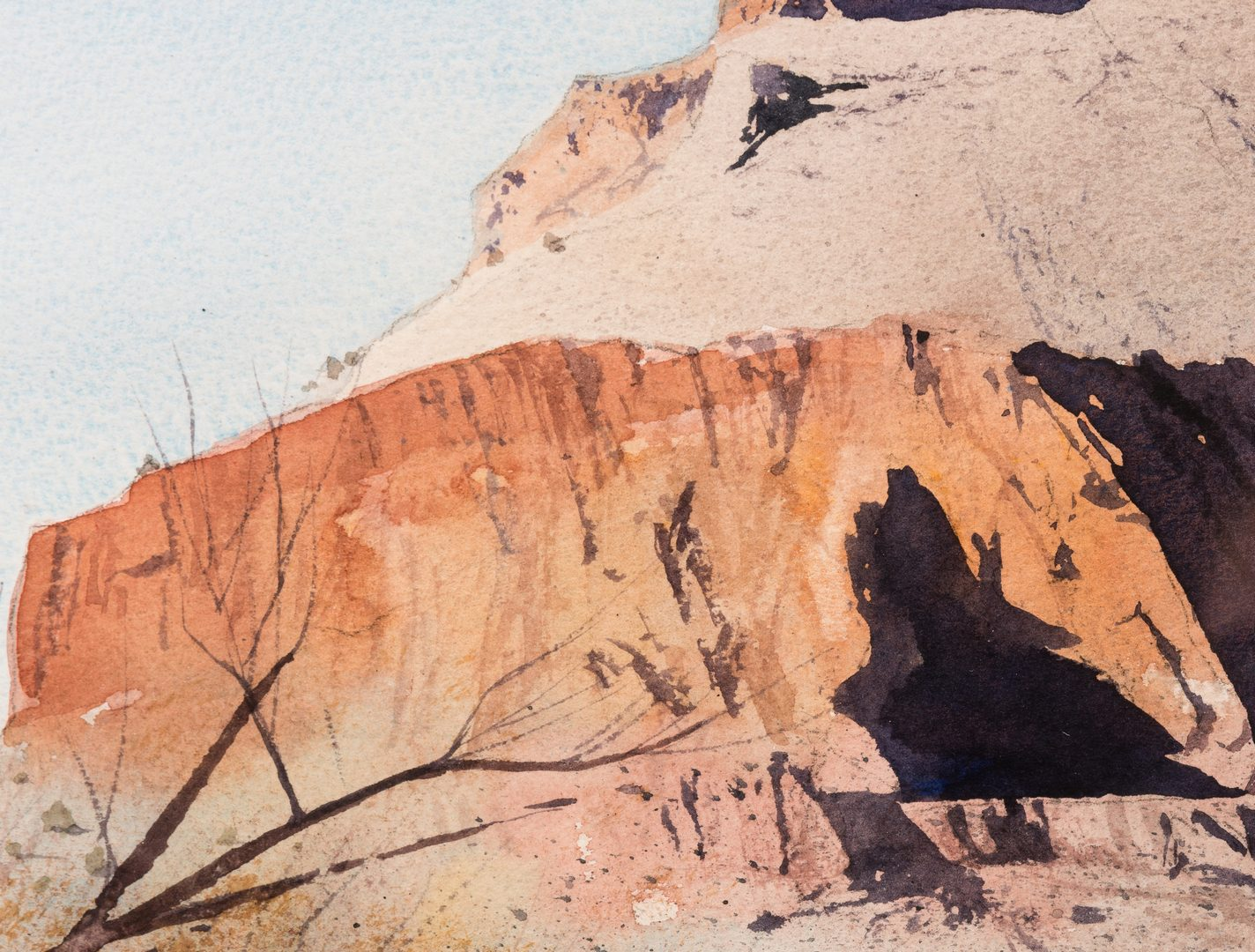Lot 434: 2 Robert Highsmith Plateau Watercolors