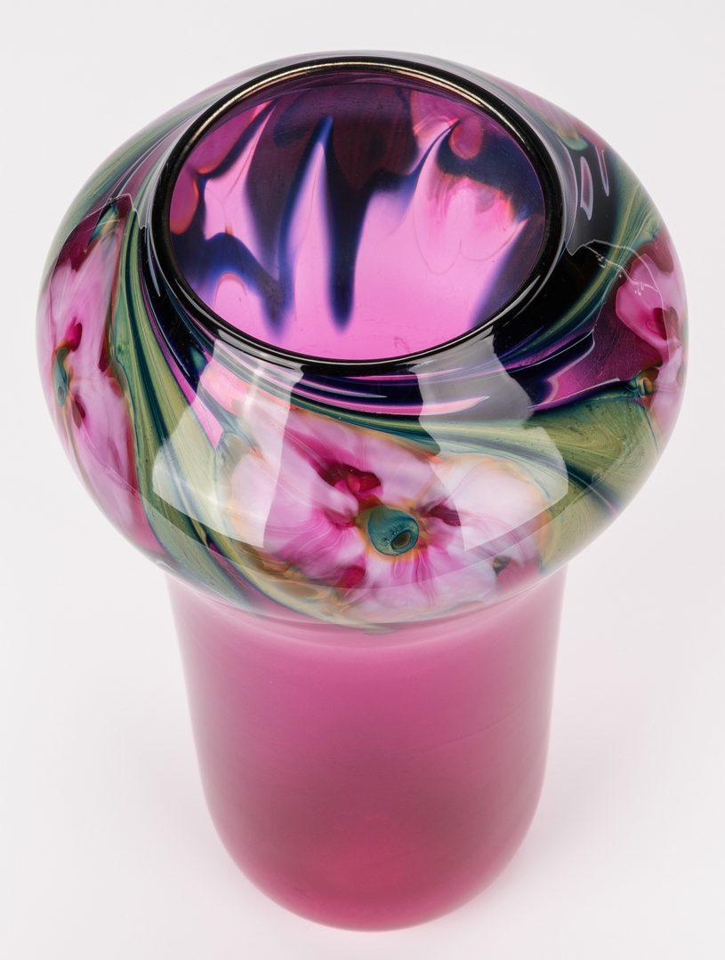 Lot 451: Charles Lotton Multiflora Vase
