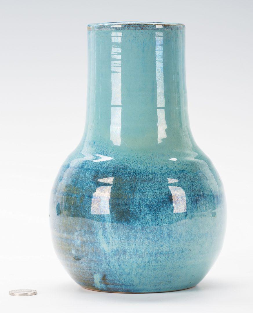 Lot 452: Shearwater Art Pottery Vase