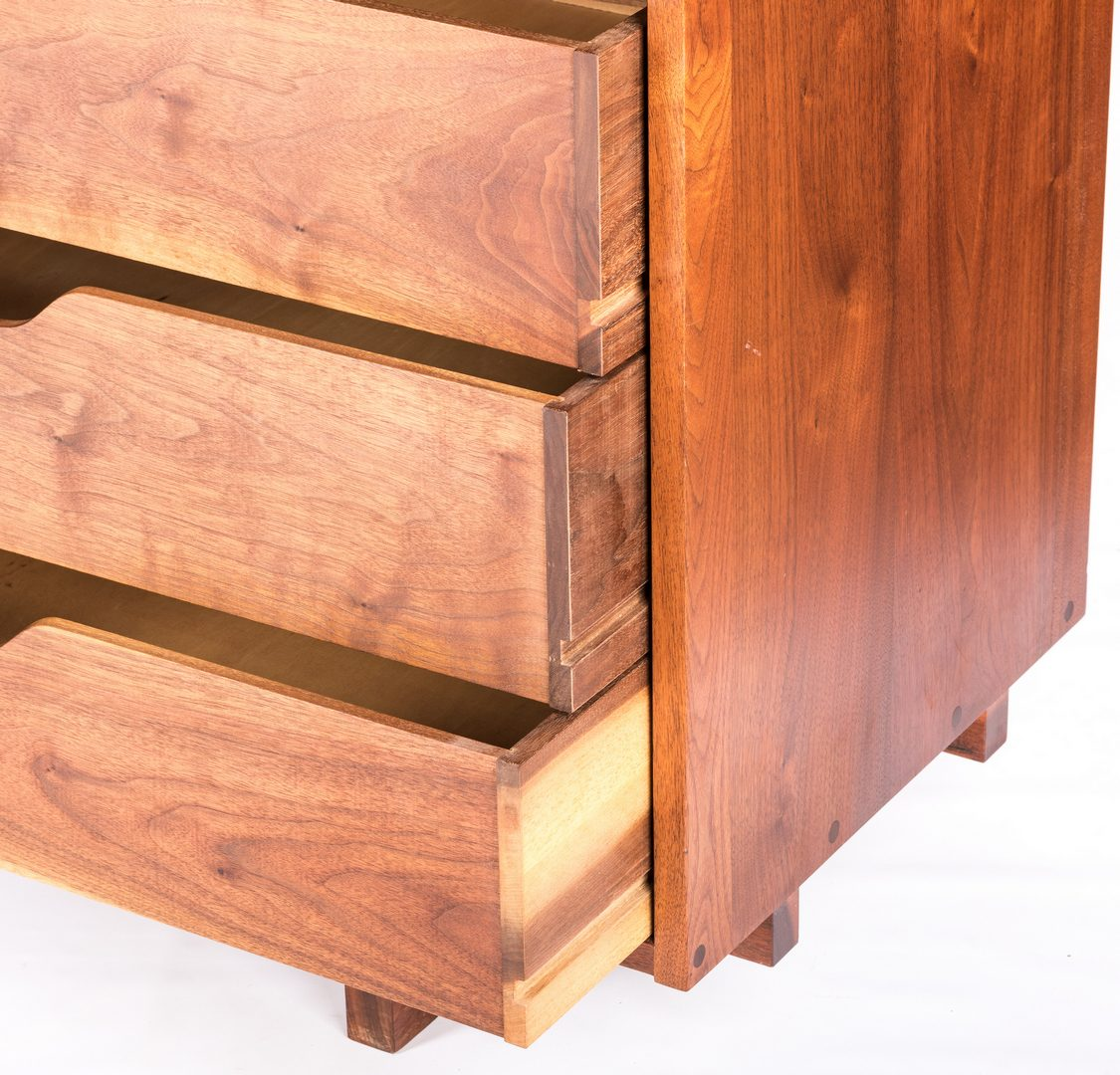 Lot 456: George Nakashima Walnut Credenza