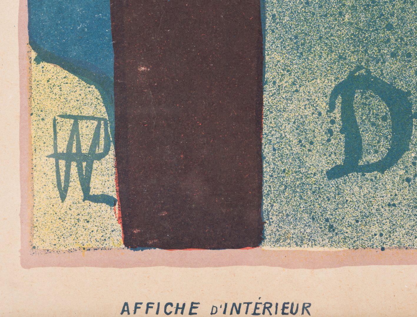 Lot 459: Rene Hermann-Paul  Salon desCent Poster