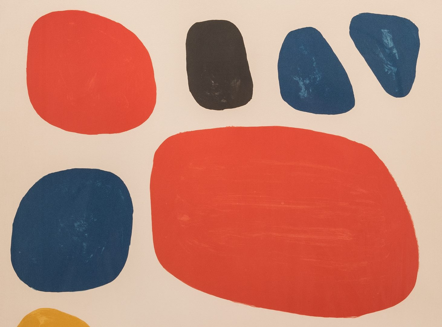Lot 462: Alexander Calder Signed Print, Homage to Ben Shahn