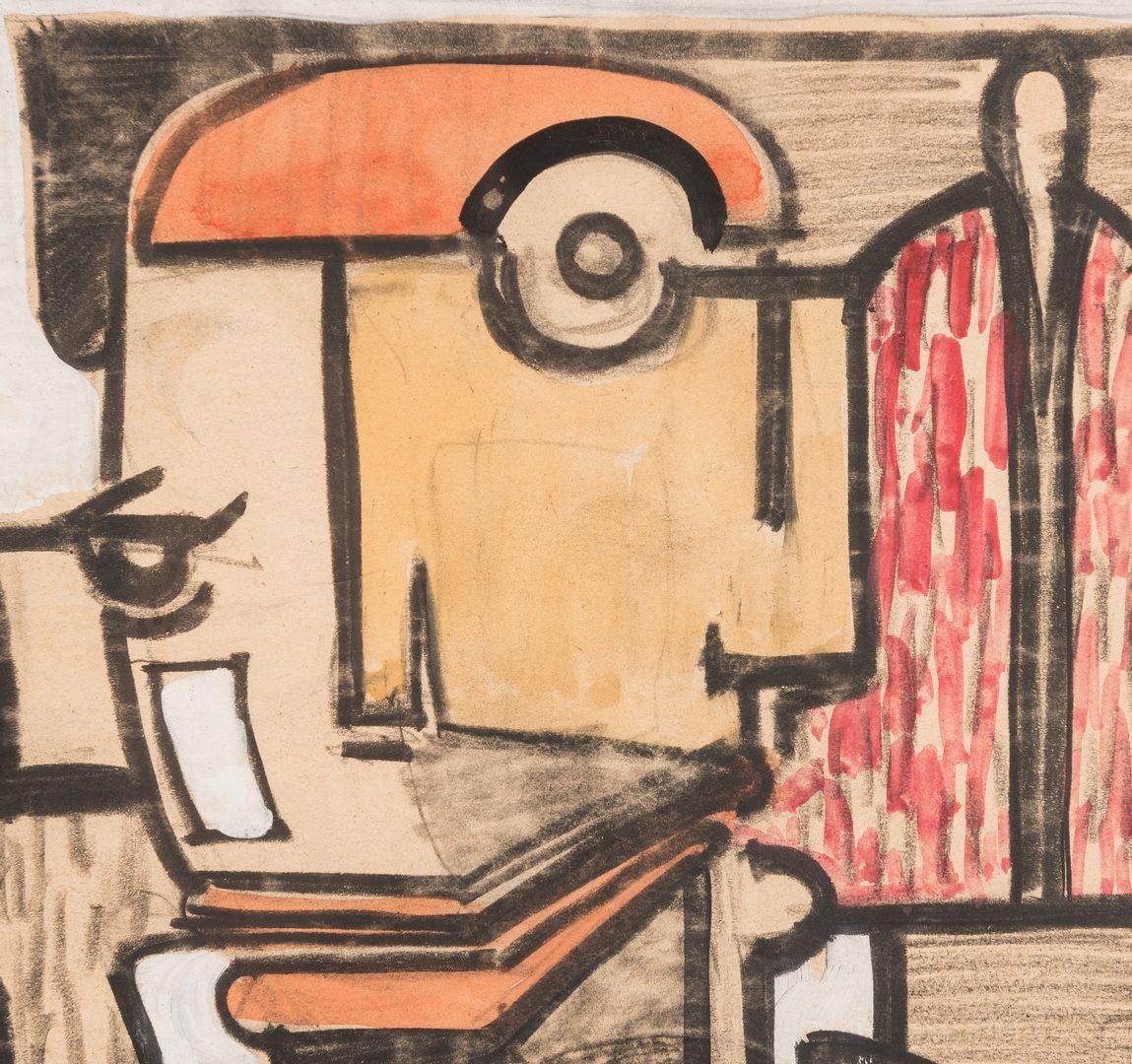 Lot 469: 2 Martin Obzina Works, framed together