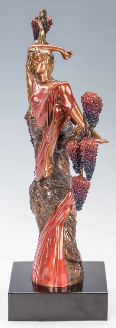 Lot 473: Erte Bronze Sculpture, Heat