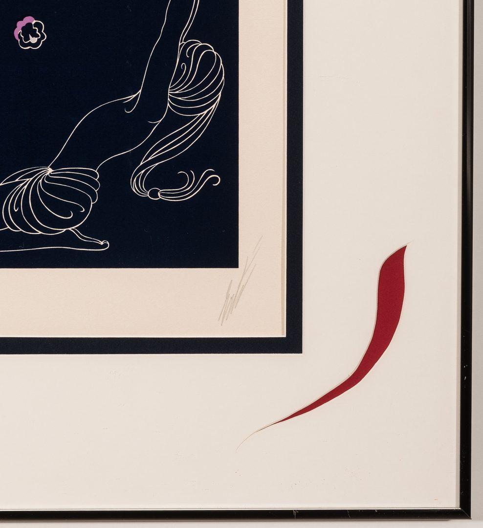 """Lot 476: Erte Serigraph, """"Oriental Tale"""""""