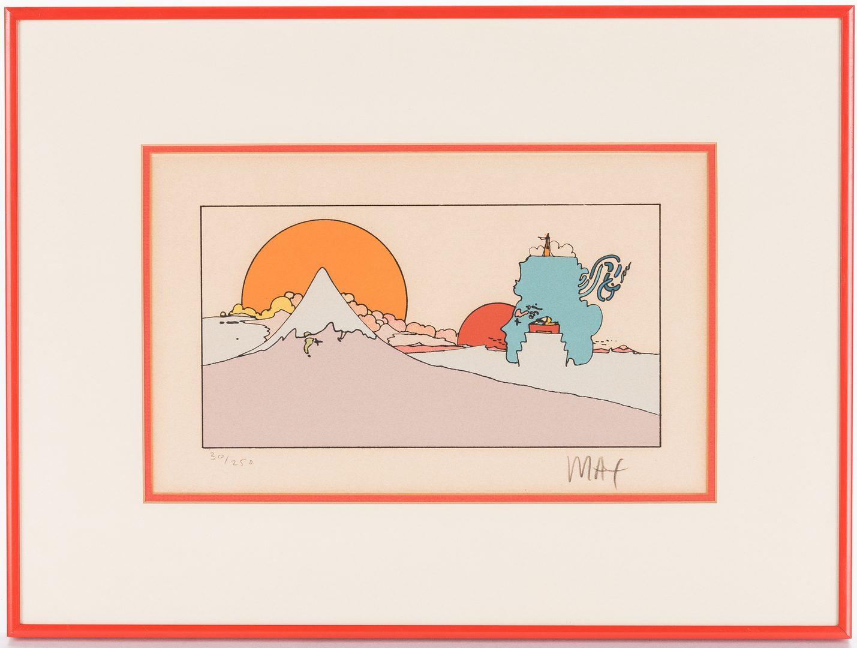 Lot 478: Peter Max Print