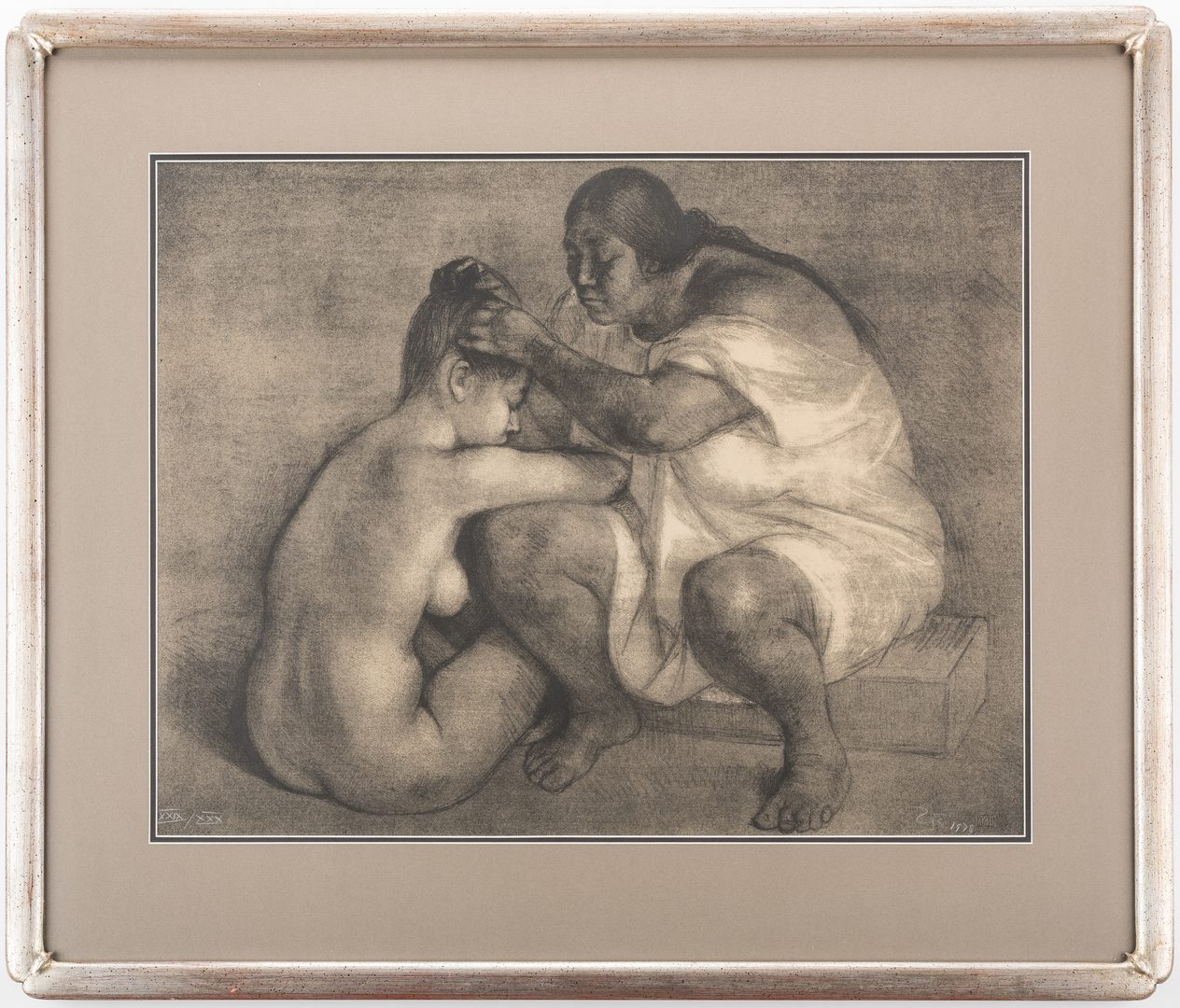 Lot 479: Francisco Zuniga Lithograph