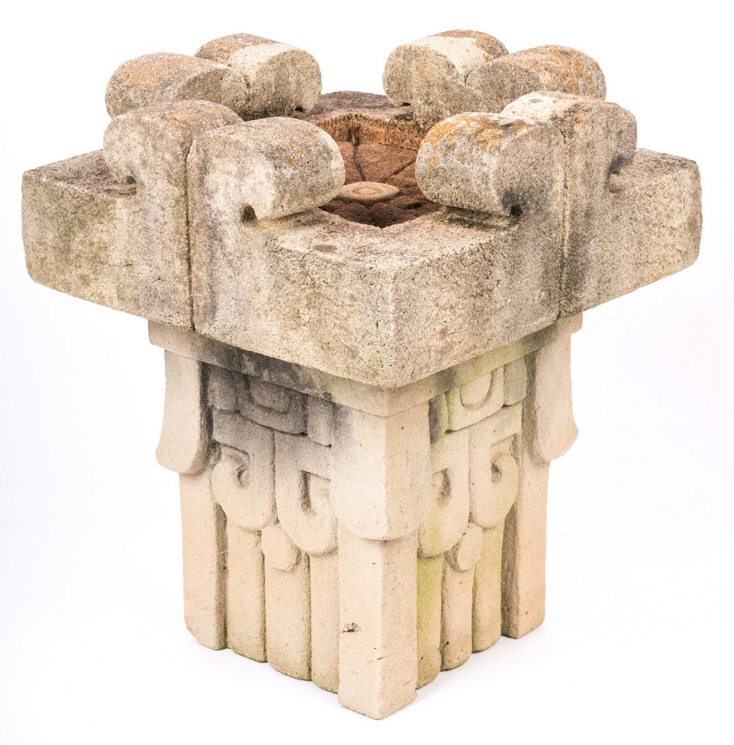 Lot 482: Jack Hastings Modernist Bird Bath Sculpture