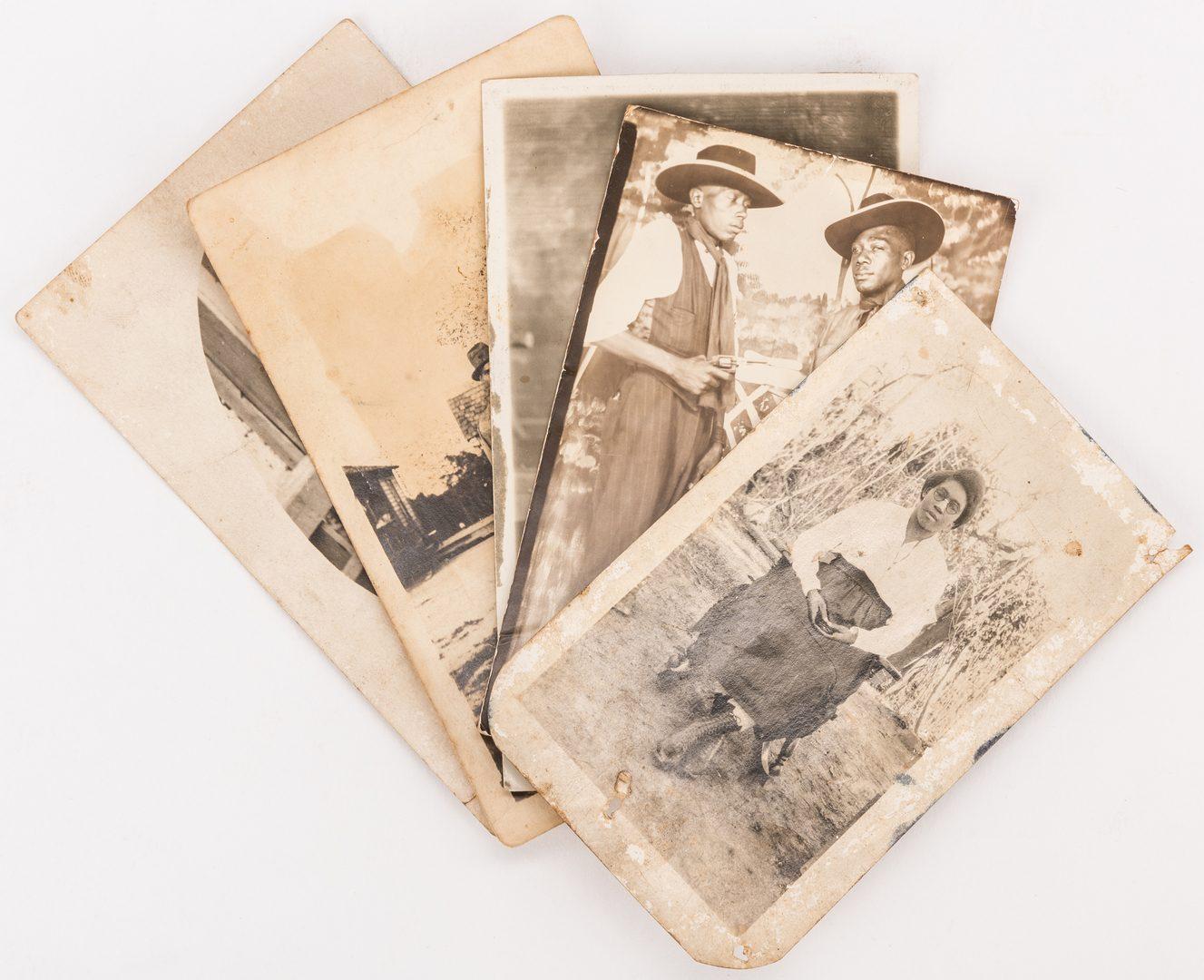 Lot 488: 19 Black Americana Photos, inc. Fisk Jubilee Singers