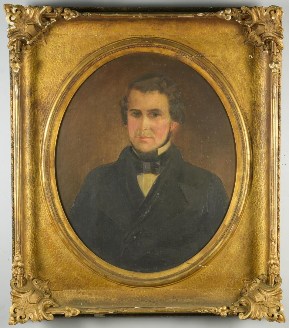 Lot 491: Murfree-Huggins Family Archive, inc. Dr. J. B. Murfree Portrait