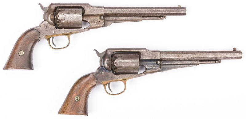 Lot 502: 2 Remington New Model 1858 Revolvers