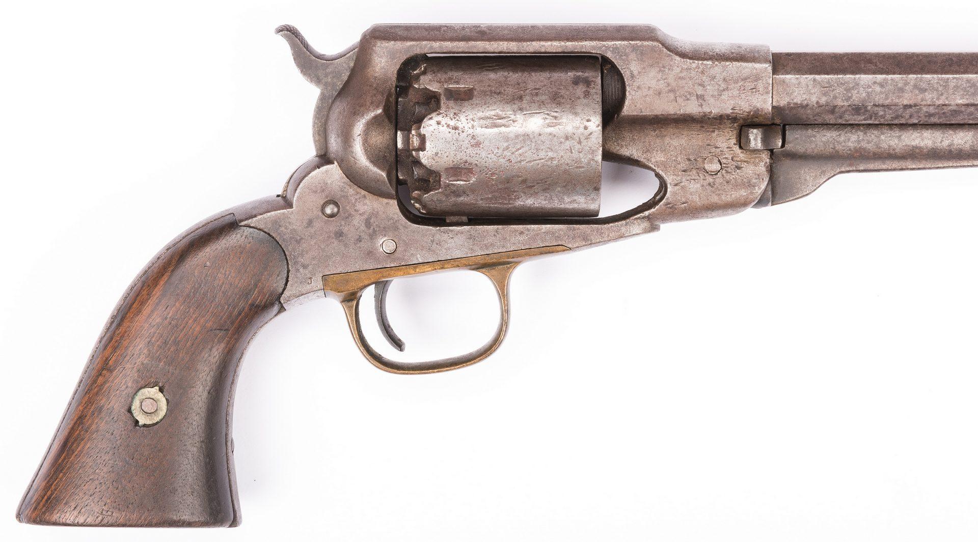 Lot 502: 2 Remington New Model 1858 Revolvers