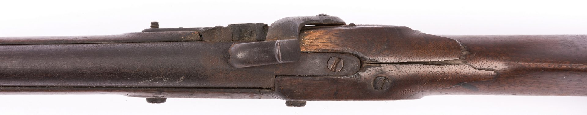 Lot 504: U.S. Asa Waters Contract Musket, 1829