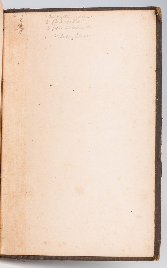 Lot 507: Military Book Belonging to Lewis Minor Coleman, Maj. Wm. Allen Signed