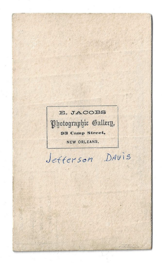 Lot 511: 3 Jefferson Davis Items, inc. Electoral Ticket