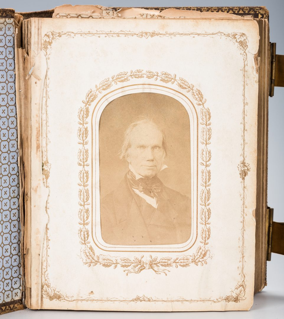 Lot 515: Civil War era Album, inc. Union Army/Naval Officers' CDVs